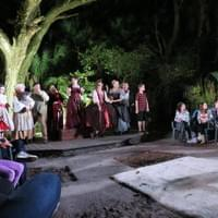 An outdoor, immersive production of Into The Woods.