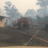 Tarlo River Road Fire