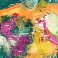 Figurative Abstract  in Water