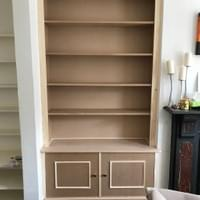 Alcove unit and bookcase