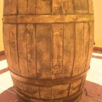 Barrel painted