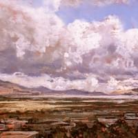 Spring Clouds Over Salt Lake - sold