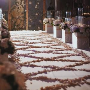 Wedding aisle-Event design by Events Boutique