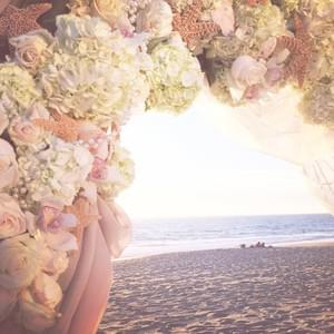 Event planning for a beach wedding