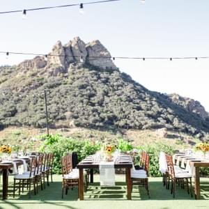 Wedding at Calamigos Ranch in Malibu