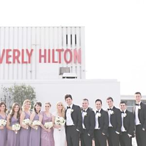 Wedding at The Beverly Hilton