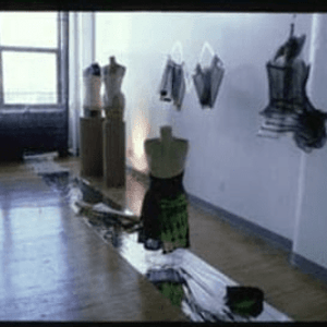Solo exhibition: 'Clothes as Metaphor'  (1995)