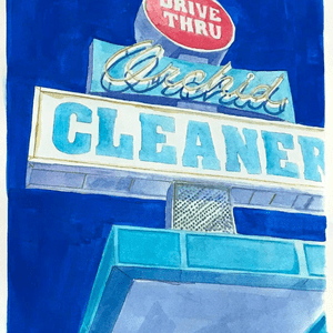 """Orchid Cleaners, Long Beach"""