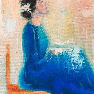 """Woman in Blue"""