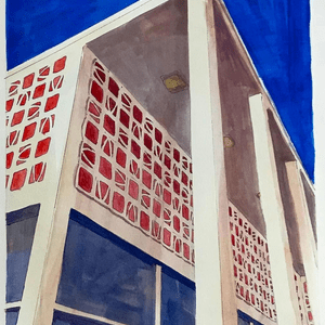 """Post Office Building, Long Beach"""