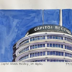 """Capitol Records Building, Los Angeles"""