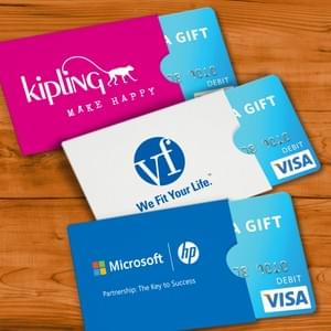 Gift Card Sleeves & Gift Cards