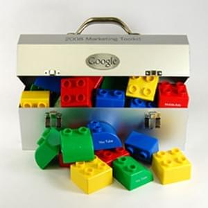 Custom Google Lego Toolbox