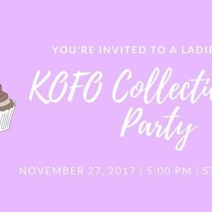 Kofo Collective Tea Party Poster