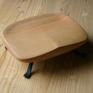 和モダンJapanese Modern 鉄脚「和イス」 Wood & Iron Floor Chair