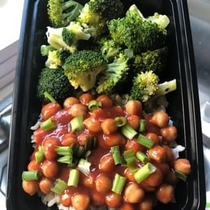 Sweet & Sour Chickpeas