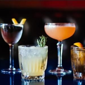 pic of variety of 4 cocktails