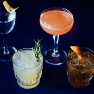 pic of a variety of 4 cocktails