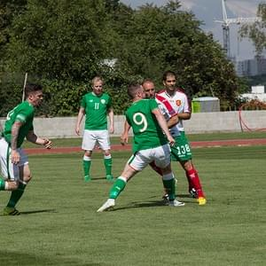 BULGARIA - IRELAND * 17th USPE European Police Championship Football Men 2018, Prague, Czech Republic