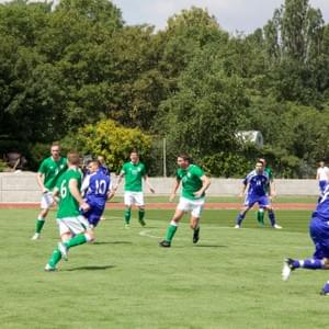 SLOVAKIA - IRELAND * 17th USPE European Police Championship Football Men 2018, Prague, Czech Republic
