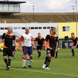 NETHERLANDS - UNITED KINGDOM * 17th USPE European Police Championship Football Men 2018, Prague, Czech Republic