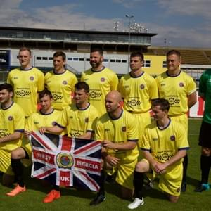 FINLAND - UNITED KINGDOM * 17th USPE European Police Championship Football Men 2018, Prague, Czech Republic