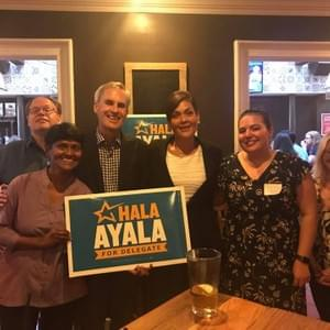Hosting a fundraiser for Hala Ayala, VA District 51