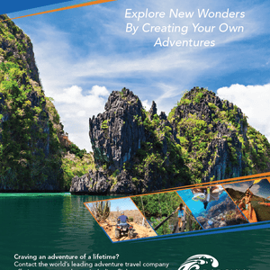 Full-Page Branding Ad for Caradonna Adventures
