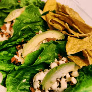 Raw Tacos (in choice of lettuce or tortilla wrap)