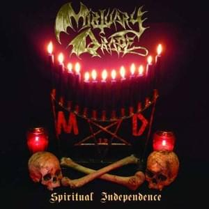 "MORTUARY DRAPE ""Spiritual Independence"" LP 12"""