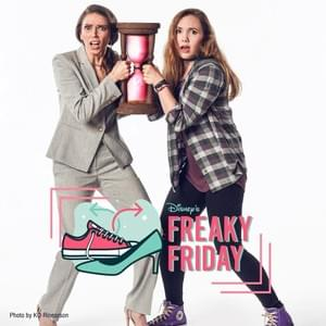 "Jennifer Teele and Celeste Rose in ""Freaky Friday"" at Lyric Theatre of Oklahoma"