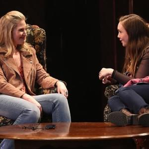 "Celeste Rose and Luba Mason in the Off Broadway production of ""Unexpected Joy""  at The York Theatre"