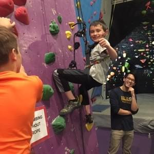 FUN ABC 10/21/18 - Self-taught self belay! When the kids no longer need  your help :)