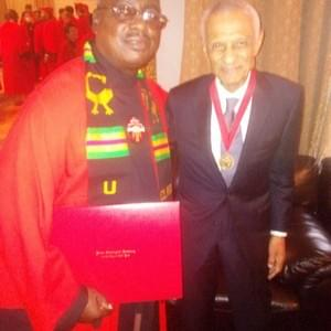 Kendrick with Union Medal recipient and civil rights activist  C.T. Vivian.