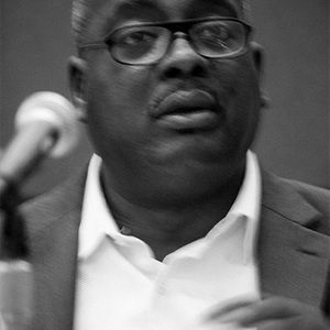 Kendrick speaking at the American Academy of Religion in San Antonio, TX.