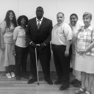 Kendrick spoke about the practical side of Black Liberation Theology of Disability at New York Theological Seminary's class, Parish Ministry and Administration 101.