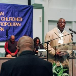 Kendrick gave the Invocation for the NYC Metro Area's American Baptist Church Annual Meeting.