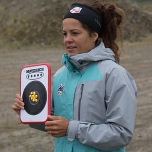 French World Cup biathlete Marine Dusser has helped  Nome Nordic and WISA athletes at Kincaid Park and at the 2017 Summer Biathlon Camp in Nome.