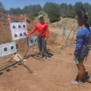 In 2017, Mallory Conger traveled to the Durango, Colorado training site of three-time US Olympic biathlete Lanny Barnes.