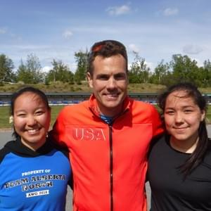 Mallory and Maya attended a 2018 summer clinic at Kincaid run by four-time US Olympic biathlete Tim Burke.