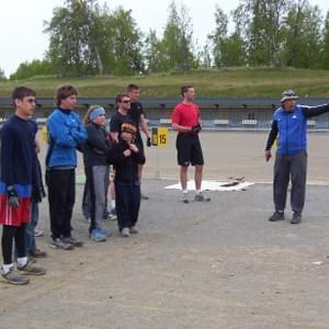 US Junior Biathlon Coach Bill Meyer conducted several summer camps attended by Nome Nordic athletes.