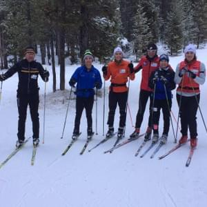 Three-time Olympian John Engen taught Nome Nordic skiers during the West Yellowstone Ski Festival in 2015 and 2016.