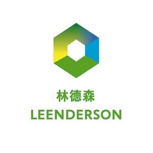 Logo and visual identity design for Leenderson, a company producing eco friendly constructive panel boards of rice straw in China. As creative director at Studio Dumbar China. 2009.