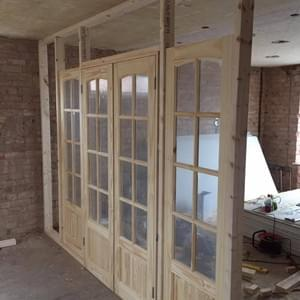 Double Door Installation