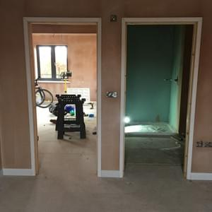 Door Frame Installed