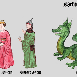 "Characters from ""Medieval Chronicles"""