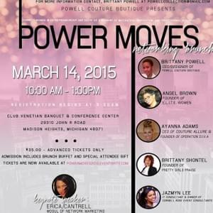 Power Moves Networking Brunch