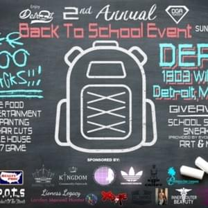 Enjoy Detroit Second Annual Back To School Event