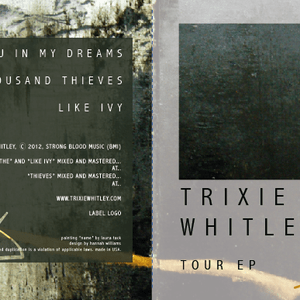 Proposed Trixie Whitley Tour EP Design, 2012