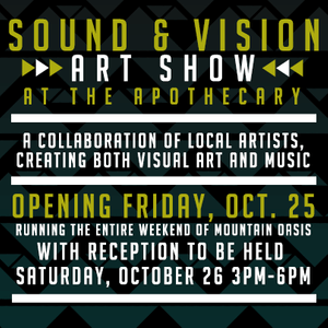 Mountain Oasis Art Show Announcement, 2016